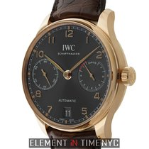IWC Portuguese Collection Portuguese 7 Day Automatic 18k Rose...