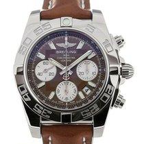 Breitling Chronomat 41 Chronograph Brown Dial