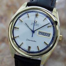 Omega Seamaster Swiss Made 1960s Rare Automatic Gold Capped...