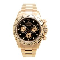 劳力士  (Rolex) Daytona 18k Rose Gold Black Automatic 116505BK