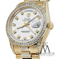 Rolex Presidential Yellow Gold 36mm Day Date White Dial...