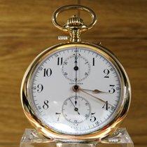 Longines Savonnette Chronograph 18kr Gold