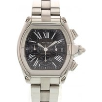 Cartier XL Roadster Chronograph Stainless Steel 2618