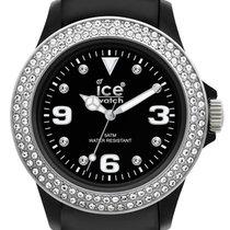 Ice Watch Stone Tycoon Swarovski Black Polyamide Steel Strap...