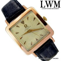 Omega Square Cioccolatone vintage Pink Gold 18KT 1950's