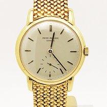 Patek Philippe Vintage 2484 Movement 746830 On Bracelet 18k...