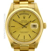 Rolex 18k yellow gold1983 Day-Date