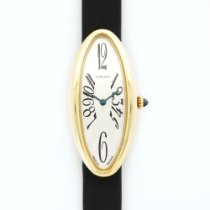 Cartier Yellow Gold Baignoire Allongee Strap Watch