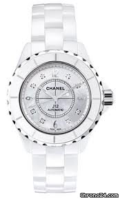 Chanel J12 White Ceramic Unisex Watch H2423