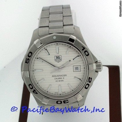 TAG Heuer Aquaracer Men&amp;#39;s WAP2011 Pre-owned