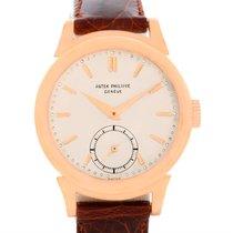 Patek Philippe Calatrava Vintage 18k Rose Gold Watch 1491 Year...
