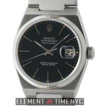 Rolex Datejust OysterQuartz 36mm Black Stick Dial Circa 1980...