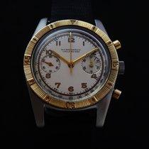 Ulysse Nardin Vintage Steel & Gold Chronograph 50's