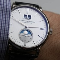 A. Lange & Söhne [NEW] Saxonia Moon Phase 40mm Mens Watch...