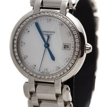 Longines PRIMA LUNA DIAMONDS BEZEL MOTHER OF PEARL DIAL