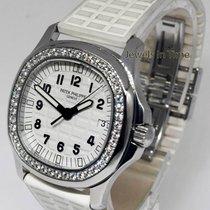 Patek Philippe Aquanaut Luce White Steel & Diamond Watch...