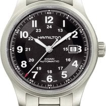 Hamilton Khaki Titanium H70525133 Herren Automatikuhr Sehr gut...
