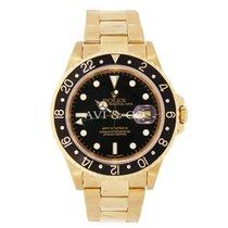 Rolex GMT-MASTER II 40mm 18K Yellow Gold Watch