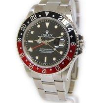 Rolex GMT-Master II Steel Black/Red Coke Bezel Mens Watch...
