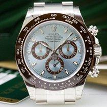 Rolex 116506 Daytona Platinum Glacier Blue / Brown Ceramic...