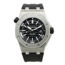 Audemars Piguet New  Royal Oak Offshore Stainless Steel Black...