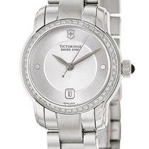 Victorinox Swiss Army Vivante Steel & Diamond Womens Swiss...