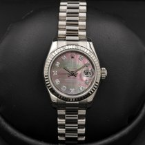 Rolex Datejust Ladies President 179179 White Gold