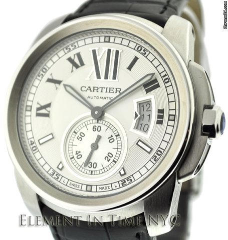 Cartier Calibre De Cartier Steel W7100037