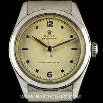 Rolex S/S Silver Dial Oyster Royal Shock Resisting Vintage 6144