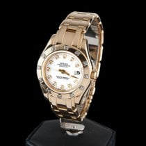 Rolex DATEJUST YELLOW GOLD AND DIAMODS LADY