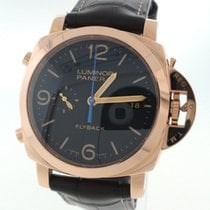 Panerai Luminor 1950 3 Days Chrono PAM00525 Automatic 18K Rose...