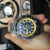 Breitling Superocean 42 abyss yellow