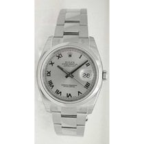 Rolex Datejust 116200 Men's Stainless Steel Heavy Oyster...