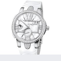 Ulysse Nardin Executive Dual Time For Lady Steel Ladies Watch