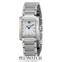Cartier Tank Francaise Silver Dial WE110006 M
