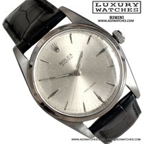 Rolex Oyster Precision 6424 Jumbo silver dial very rare 1960