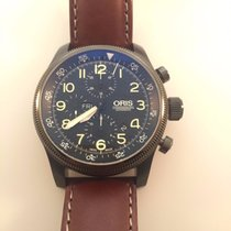 Oris Big Crown Timer Chronograph Black Dial