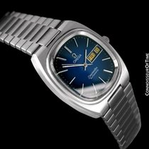 Omega 1981 Seamaster Vintage Mens TV Watch, Automatic, Day Date -