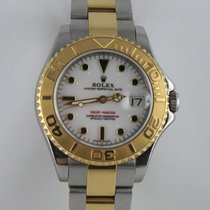 Rolex Yachtmaster 35mm Stahl Gold 116623  LC100
