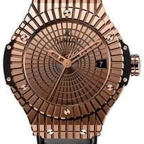 Hublot Big Bang 41 mm 18K Rose Gold Rubber Caviar Unisex Watch