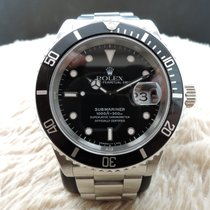 勞力士 (Rolex) SUBMARINER 16610 (T25) Black Dial with Black Bezel