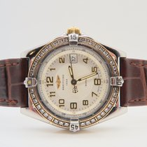 Breitling Wings Lady Steel Factory Diamonds