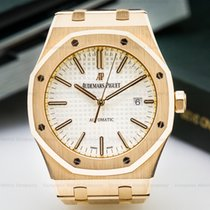 Audemars Piguet 15400OR.OO.1220OR.02 Royal Oak Automatic 18K...