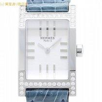 Hermès エルメス タンデム べゼルダイヤ クロコダイル TA1.230