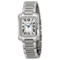 Cartier Tank Anglaise Silver Dial Ladies Watch W5310022