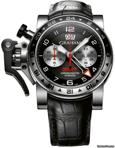Graham CHRONOFIGHTER OVERSIZE GMT - 100 % NEW