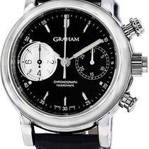 Graham Foudroyante Black Dial Automatic Men's Watch