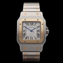 Cartier Santos Galbee XL Stainless Steel/18k Yellow Gold Gents...