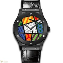 Hublot Classic Fusion Manual Extra-thin Ceramic Men's Watch