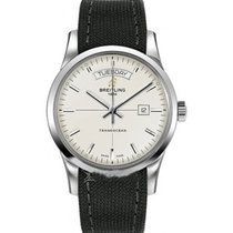 Breitling a4531012/g751-1ft Transocean Day-Date Series and...